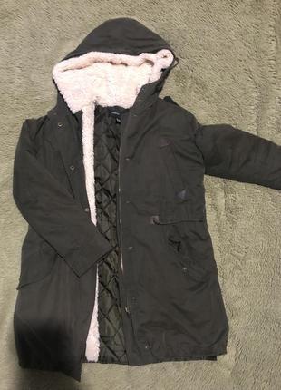 Фирменная курточка , парка mango , весна-осень ,
