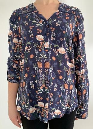 Блузка в квітковий принт, блузка, очень красивая блуза, блуза в цветочный принт.