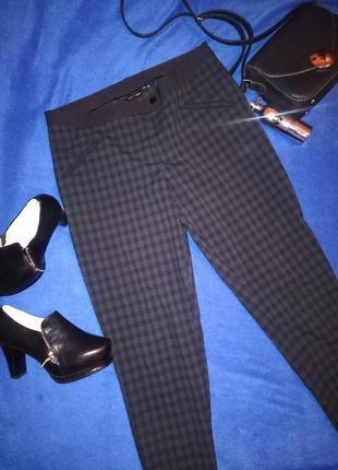 Женские брюки в клетку new look