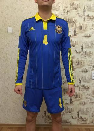 Спортивная форма сборной украины adidas ffu сезон 2014-16