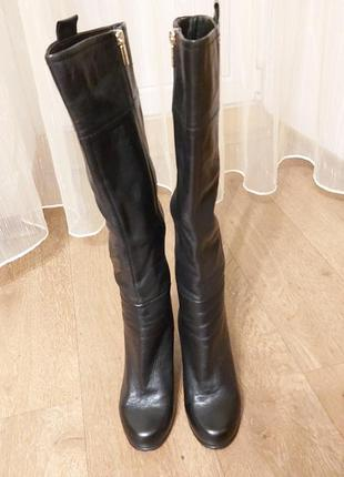Сапоги демисезонные натуральная кожа sasha fabiani р.38 в идеальном состоянии.