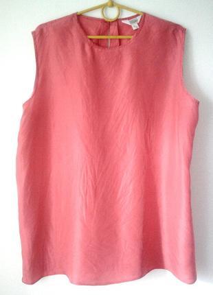 Шелковая блузка-майка, 100 шёлк блуза