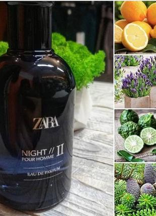 Парфумованих вода для мужчин zara night pour homme 2 100 ml