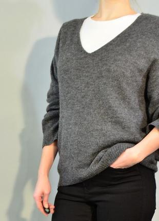 4200\60 свитер серого цвета h&m s