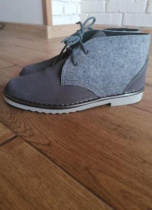 Крутые ботинки дезерты inblu.