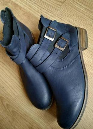 Ботинки челси монки кожа