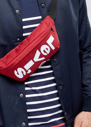 Поясная сумка levi's с логотипом