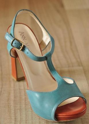 Кожаная обувь3 фото