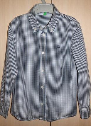 Рубашка benetton р.120см(6-7лет)