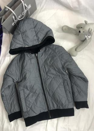 Двухсторонняя куртка бомбер burberry оригинал