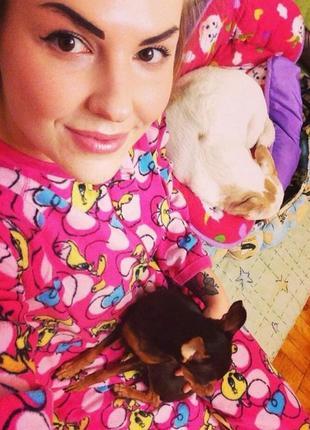 Кигуруми флис пижама комбинезон домашний мультик