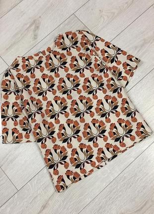 Шикарная блуза в принт