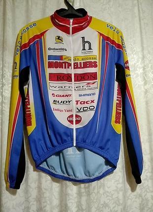 Giordano.  итальянская велофутболка