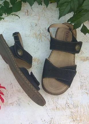 🎡кожаные сандалии босоножки  hotter р 38-38,5