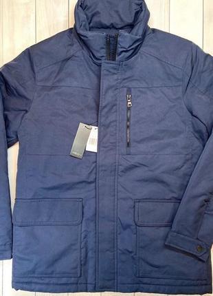 Синя куртка neo-i by orobos без карішону