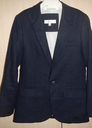 Льняной пиджак жакет john rocha р.128см(8лет)