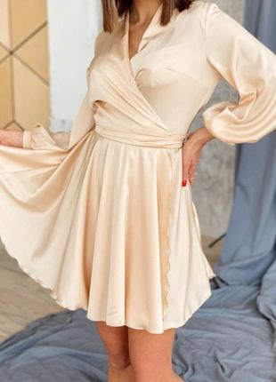 Платье шелк женское шикарное
