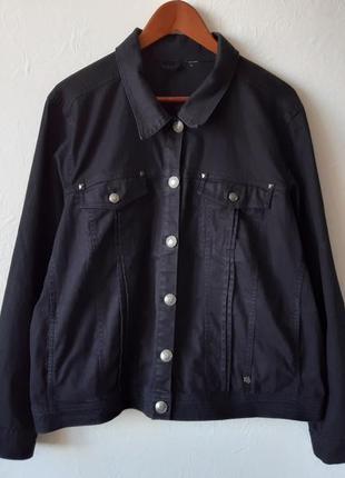 Джинсовая куртка/батал