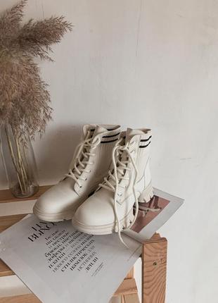 Весенние ботинки эко кожа