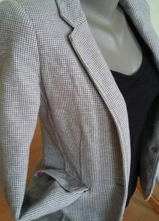 Трикотажный пиджак-жакет р. xs-s