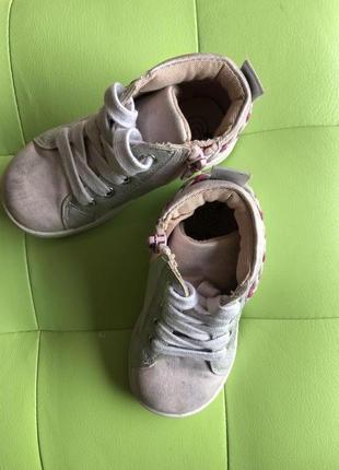 Весенние пудровые ботинки gemo размер 22!