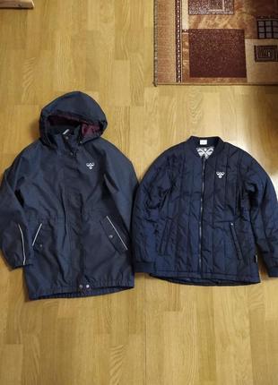 Куртка бомба, 2 в 1, hummel