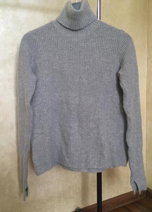 Теплий гольф zara knit