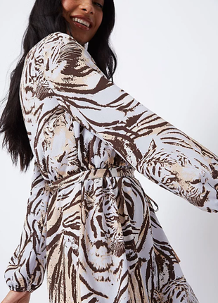 Платье в тигры от george р.46-48