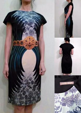 Красивое платье плотный трикотаж