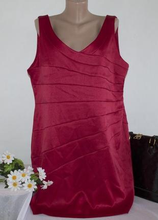 Брендовое миди платье f&f вьетнам большой размер