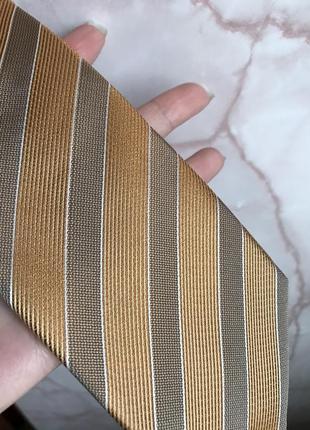 100% шёлк! оригинальный галстук! не широкий