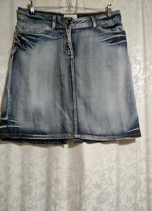 L.o.g.g. , h&m прямая юбка из тонкой джинсы.