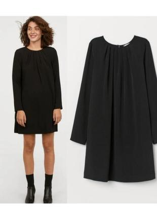 Платье с длинным рукавом  ,платье трапеция,а-образное платье