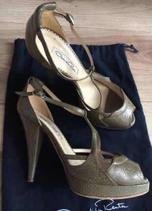 Туфли -босоножки oscar de la renta, оригинал