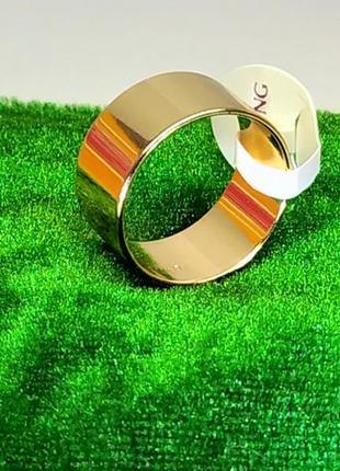 """Позолоченные """"американки"""" - кольца обручальные 10 мм, обручалки, позолота+видео"""