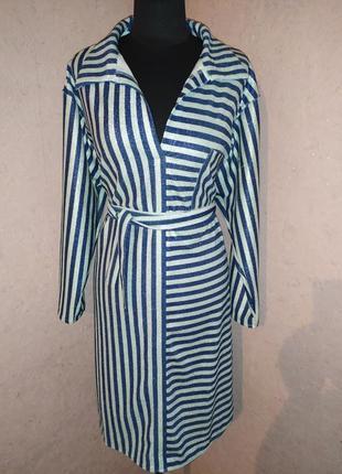 Супер платье с люрексом