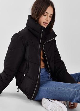 Стеганая куртка bershka trend 💯 bershka