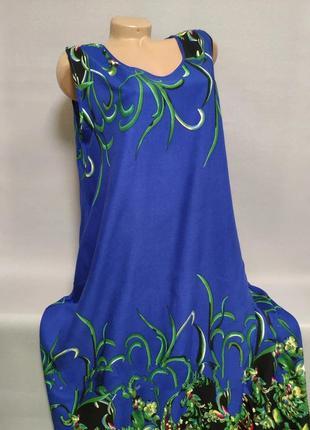 Платье с натуральной ткани
