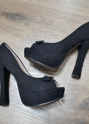 Туфли с открытым носком centrshoes центробувь
