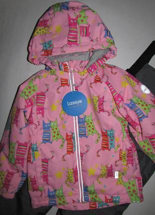 Красивая демисезонная куртка для девочки
