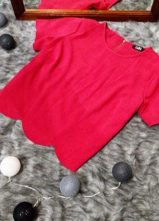 Блуза топ кофточка с фигурным низом george