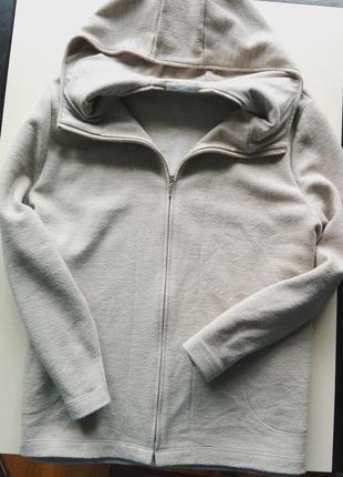 Стильное пальто/кардиган с капюшоном актуального цвета marks&spencer1