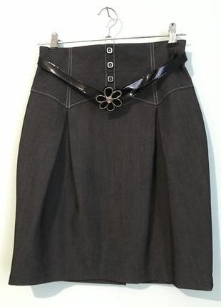 Прямая классическая юбочка