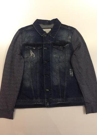 Джинсовая куртка с мягкими руками river island