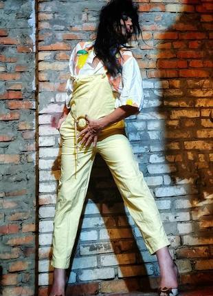 Комбинезон винтаж винтажный jackpot коттон хлопок брючный брюки италия