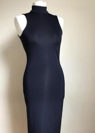 Миди платье с открытой спиной h&m