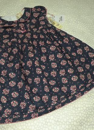 Красивое платье 3-4 года