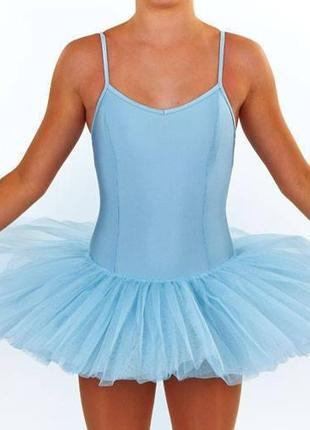 Новые красивенные купальники для танцев с пышной юбкой на 6-8 и 9-10 лет.