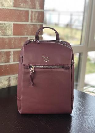Стильный женский рюкзак david jones марсала
