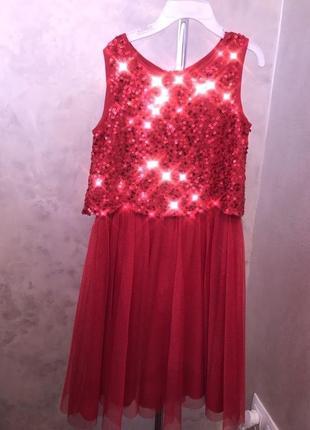 Monsoon красивейшее платье на девочку .
